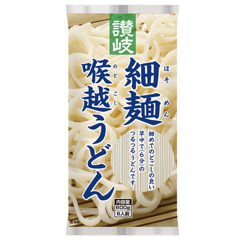 さぬきシセイ 讃岐細麺喉越うどん 600g
