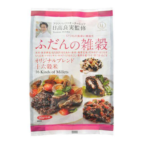 旭食品 ふだんの雑穀 日髙シェフ 30g 6個