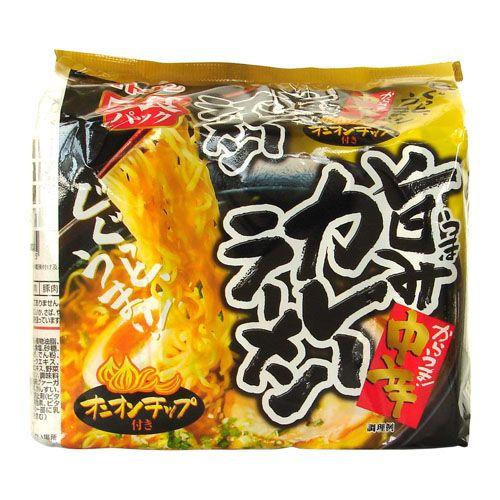 イトメン 旨みカレーラーメン 91g×5食