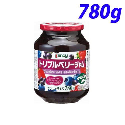 加藤産業 カンピー トリプルベリージャム 780g