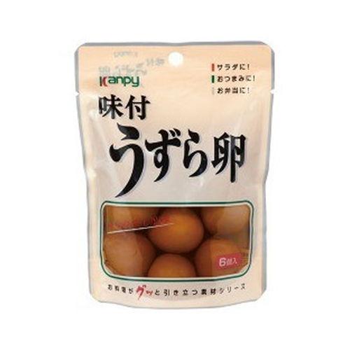 加藤産業 カンピー 味付うずら卵 6個入