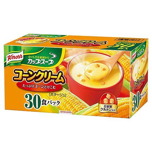 味の素 クノール カップスープ コーンクリーム 30食入り