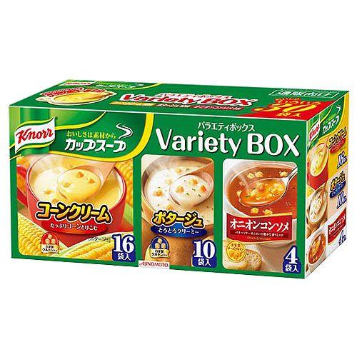 味の素 クノール カップスープ バラエティ 30食入り
