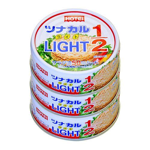 ホテイフーズ ツナカル LIGHT 70g 3缶