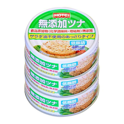 ホテイフーズ 無添加ツナ 70g 3缶