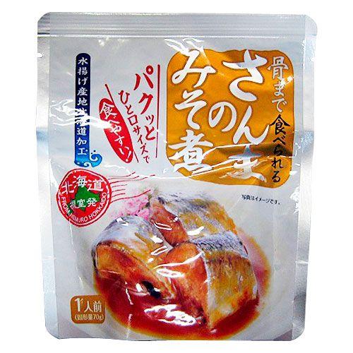 兼由 さんまの味噌煮 95g