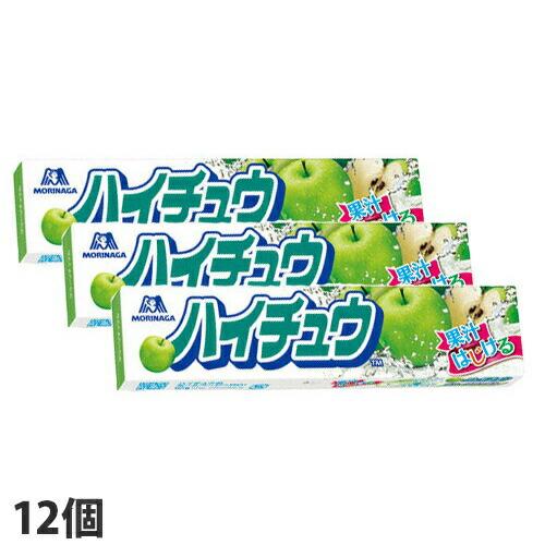 森永製菓 ハイチュウ グリーンアップル 12粒 12個