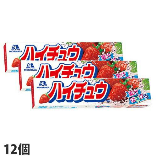 森永製菓 ハイチュウ ストロベリー 120g 12個