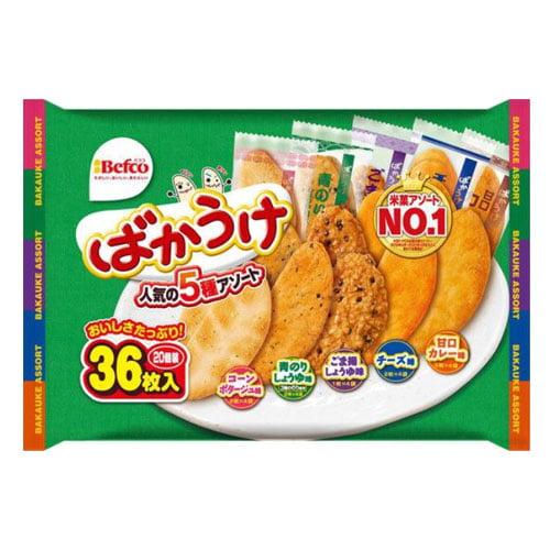 栗山米菓 ばかうけ Fばかうけアソート 40枚