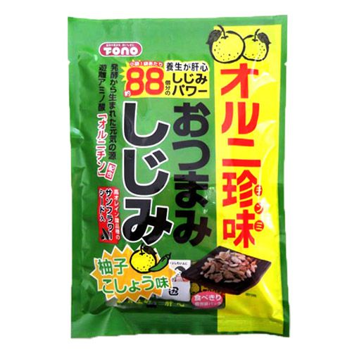 トーノー おつまみしじみ柚子胡椒 50g