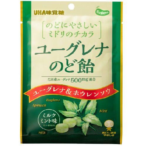 UHA味覚糖 ユーグレナのど飴 67g
