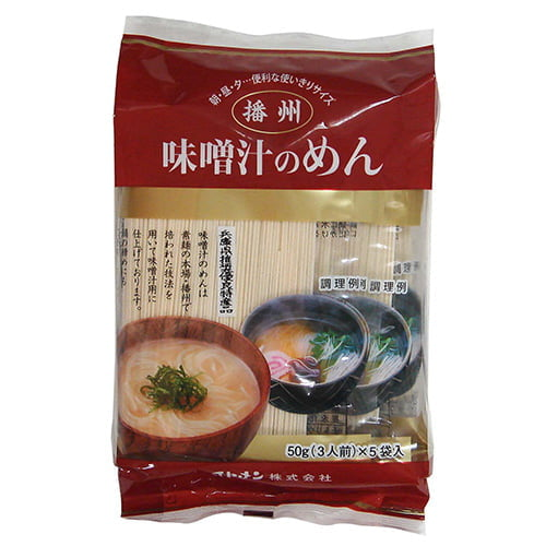 イトメン 味噌汁のめん 50g 5袋
