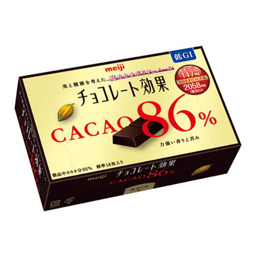 明治 チョコレート効果 カカオ86%BOX 70g