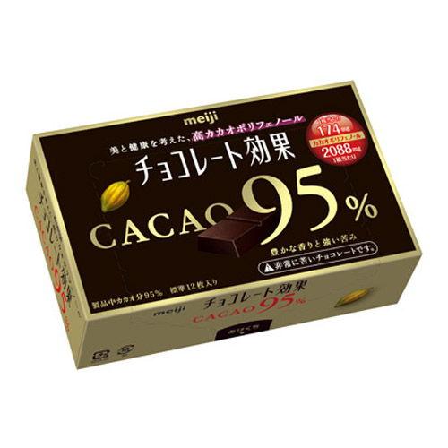 明治 チョコレート効果 カカオ95%BOX 60g