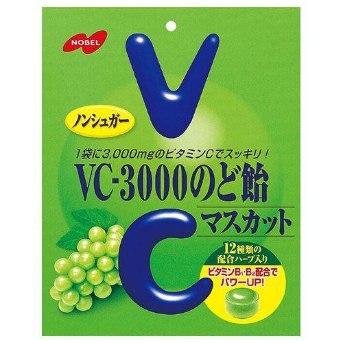 ノーベル製菓 VC-3000のど飴マスカット 90g