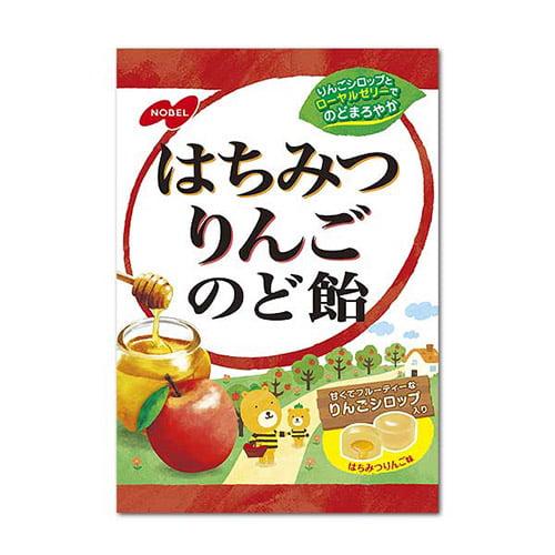 ノーベル製菓 はちみつりんごのど飴 110g