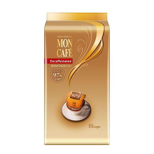 カフェインレスコーヒー モンカフェ 7.5g 10袋入