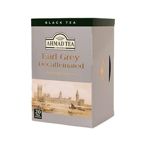 AHMAD TEA デカフェ アールグレイ ティーバッグ 20P