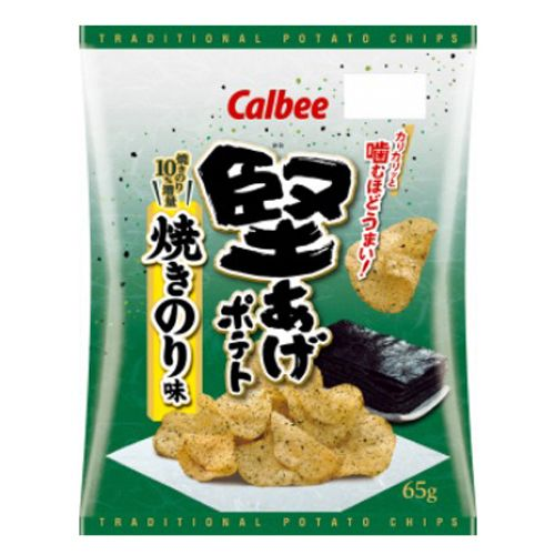 カルビー 堅あげポテト 焼きのり味 65g