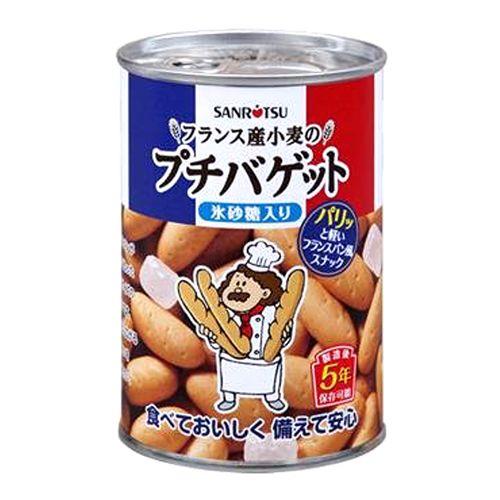 三立製菓 缶入プチバゲット氷砂糖入り 85g