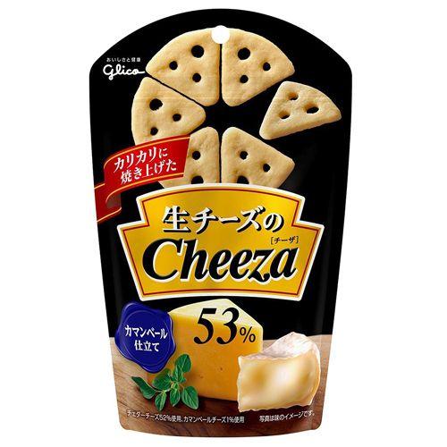 グリコ 生チーズのチーザ カマンベールチーズ 49g