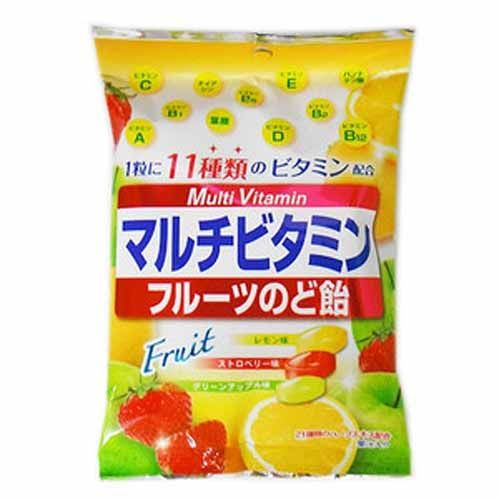 扇雀飴本舗 マルチビタミンフルーツのど飴 80g