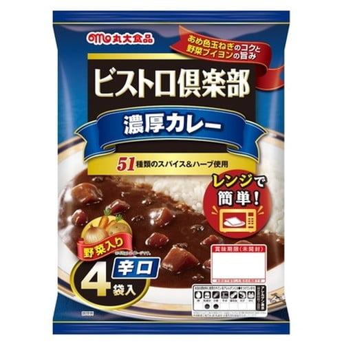 丸大食品 ビストロ倶楽部 ヒーフカレー 辛口 170g 4食入