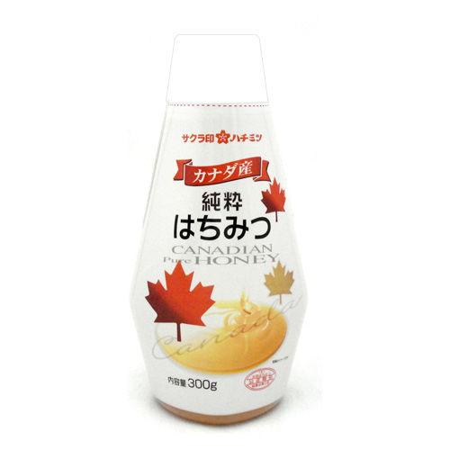加糖美蜂園本舗 サクラ印 カナダ産純粋はちみつ 300g