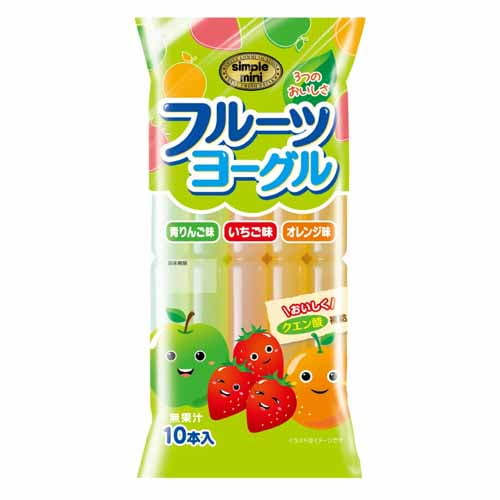しんこう 棒ジュース フルーツヨーグル 55ml 10本