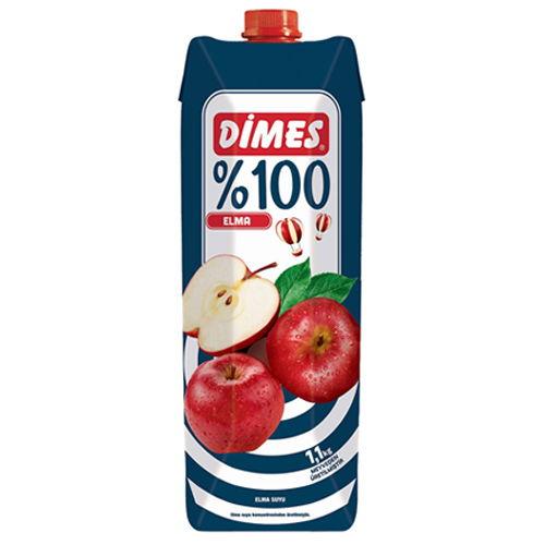 ディメス アップルジュース 果汁100% 濃縮還元 1L