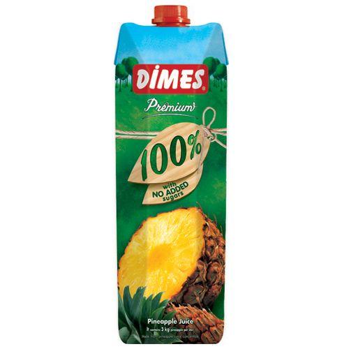 ディメス パインアップルジュース 果汁100% 濃縮還元 1L