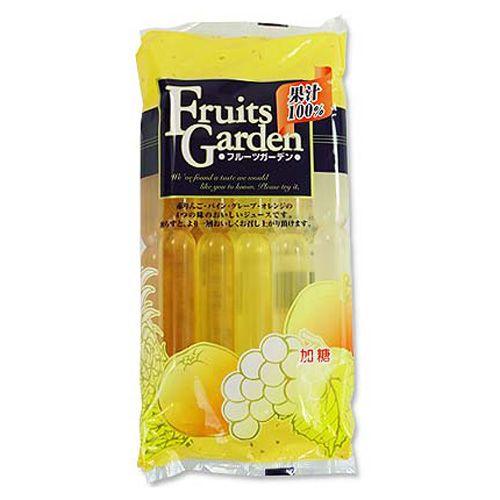 マルゴ食品 棒ジュース 果汁100% フルーツガーデン 60ml 10本
