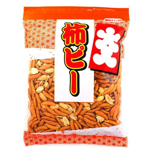 カネタ・ツーワン 大入り柿ピー チャック付 500g