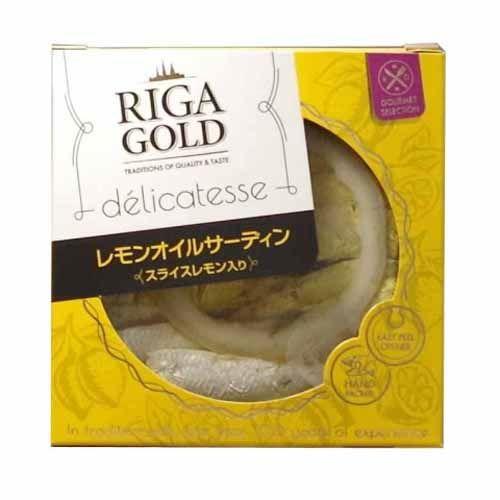 リガゴールド レモンオイルサーディン 120g