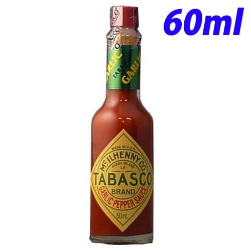 タバスコ 香辛料 ガーリックソース 60ml