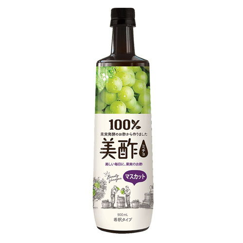 CJジャパン お酢 美酢 マスカット味 900ml