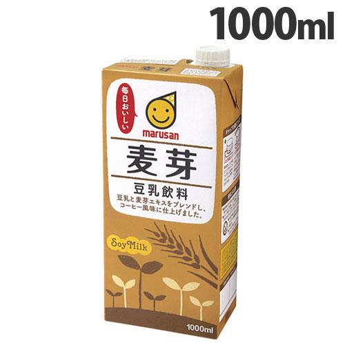 マルサンアイ 豆乳飲料 麦芽 1000ml