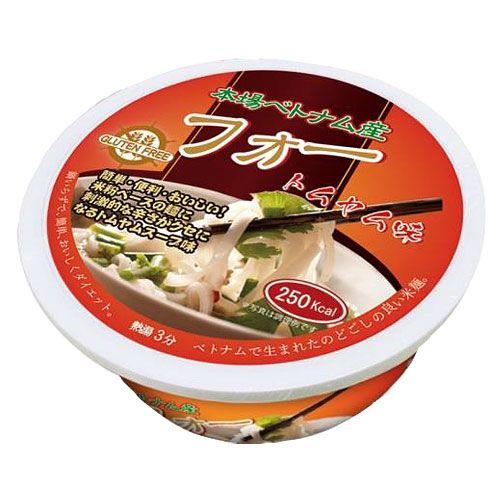 Gluten Free カップ麺 フォー(米粉麺) トムヤム味 65g
