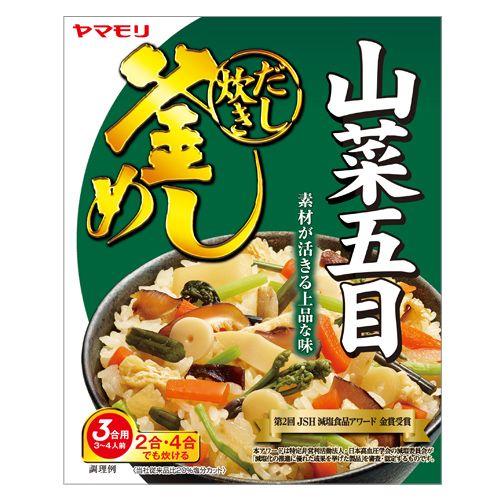 ヤマモリ 山菜五目釜めしの素 240g