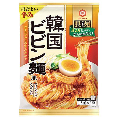 キッコーマン 具麺 韓国ビビン麺風 2袋入り