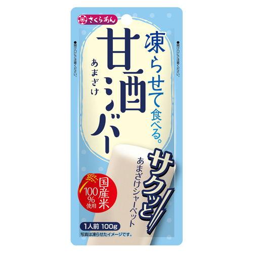 谷尾食糧工業 凍らせてたべる 甘酒バー 100g