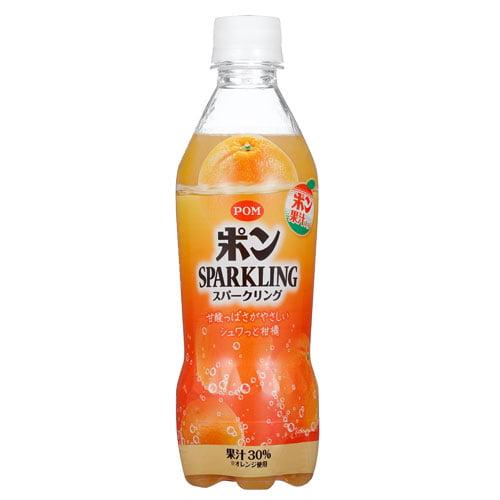 えひめ飲料 POM スパークリング 410ml