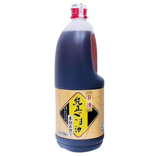 日清オイリオ 純正ごま油本胡麻搾り 1500g