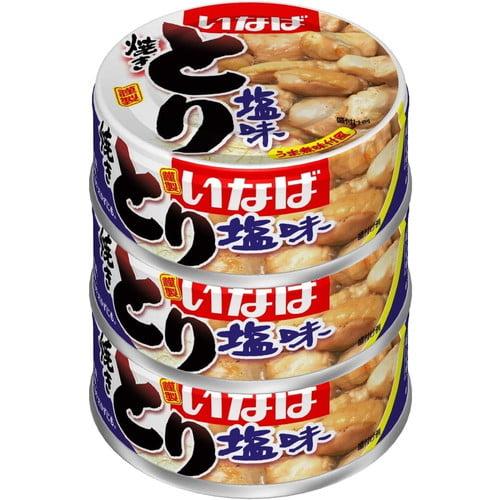 いなば食品 とり塩味 65g 3缶