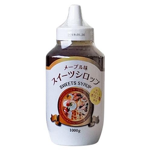 光商 メープル味スイーツシロップ(オリゴ糖入り) 1000g