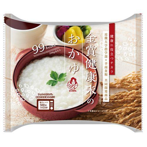 おくさま印 金賞健康米のおかゆ 250g