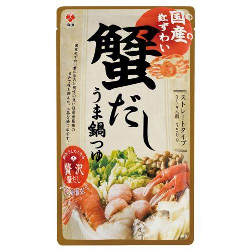 盛田 国産紅ずわい蟹だしうま鍋つゆ ストレート 750g