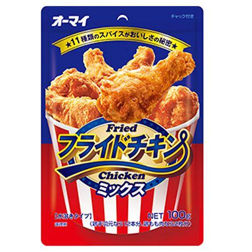 日本製粉 フライドチキンミックス 100g