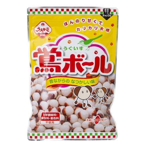 植垣米菓 鶯ボール 110g