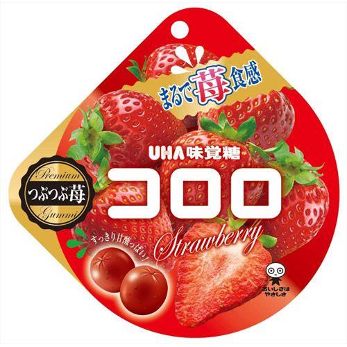 UHA味覚糖 コロロ ストロベリー 40g